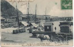 Algérie ORAN  Le Port - Les Quais - Oran