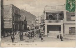 Algérie ORAN Le Boulevard Marceau - Oran