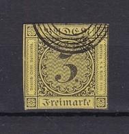 Baden - 1852 - Michel Nr. 2 B - Gest. - 20 Euro - Baden