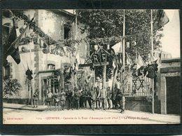 CPA - QUIMPER - La Caserne De La Tour Cd'Auvergne - Le Corps De Garde, Très Animé - Quimper