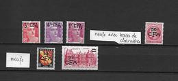 Timbres CFA - 1945 à 1948 - Réunion (1852-1975)