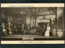 CPA - Visitez QUIMPER Et Sa Région - Assistez à La Soirée Bretonne - Quimper