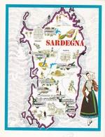 SARDEGNA - ENOGRAFIA REGIONALE DEI VINI D.O.C - Mappe