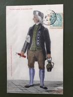 Un Perruquier Ardennais, 1830 - Francia
