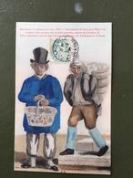 Marchan De Plumes De Bois,1830 - Francia