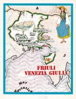 FRUILI VENEZIA GIULIA - ENOGRAFIA REGIONALE DEI VINI D.O.C - Mappe