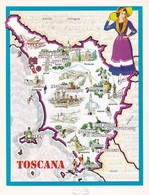 TOSCANA - ENOGRAFIA REGIONALE DEI VINI D.O.C - Mappe