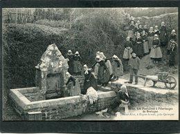 CPA - Les Fontaines à Pèlerinages De Bretagne - Saint-Alor à ERGUE-ARMEL, Très Animé - Frankrijk