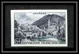France N°976 Série Touristique Lourdes Non Dentelé ** MNH (Imperforate) - France