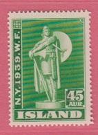 1939 ** (sans Charn., MNH, Postfrish)  Yv  184Mi  206FA  254 - Nuevos