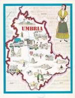 UMBRIA - ENOGRAFIA REGIONALE DEI VINI D.O.C - Mappe