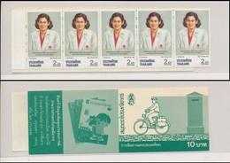 Thailande 1991 Red Cross Croix Rouge Carnet  MNH - Premio Nobel