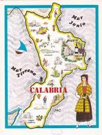 CALABRIA - ENOGRAFIA REGIONALE DEI VINI D.O.C - Mappe