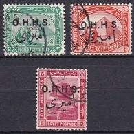 E203 – EGYPTE – EGYPT – OFFICIAL – 1914/5 – SC # O9/11 USED - Service