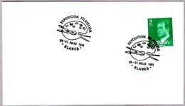 PALETA DE PINTOR - PALETTE OF PAINTING. Blanes, Gerona, 1981 - Otros