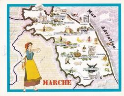 MARCHE - ENOGRAFIA REGIONALE DEI VINI D.O.C - Mappe