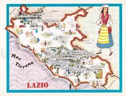LAZIO - ENOGRAFIA REGIONALE DEI VINI D.O.C - Mappe