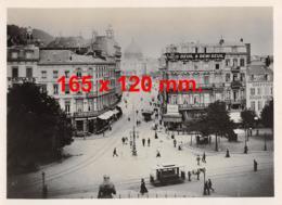 Photo Animée, Tram Attelé (Liège ?) - Dim. 165 X 120 Mm. - Luoghi