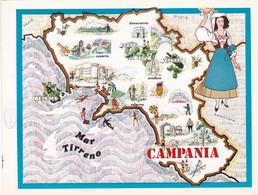 CAMPANIA - ENOGRAFIA REGIONALE DEI VINI D.O.C - Mappe