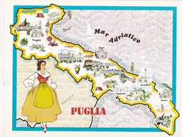 PUGLIA - ENOGRAFIA REGIONALE DEI VINI D.O.C - Mappe