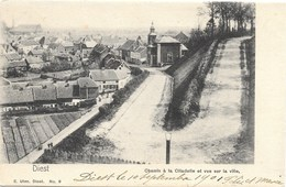 Diest NA12: Chemin à La Citadelle Et Vue Sur La Ville 1901 - Diest