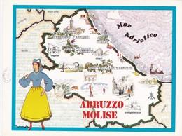 ABRUZZO, MOLISE - ENOGRAFIA REGIONALE DEI VINI D.O.C - Mappe