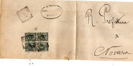 CG4 - Italia - Lettera Da Bogogno Del 18/12/1898? Per Novara - Italy