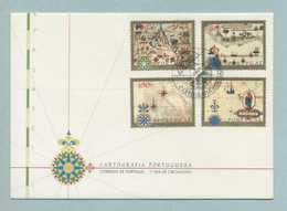 FDC, Portugal, Cartografia Portuguesa, Mark CTT Lisboa 9/10/1997   (2 Scans) - FDC