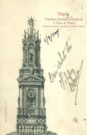 "6422 "" VITERBO-GRANDIOSA MACCHINA TRIONFALE DI S. ROSA DI VITERBO ""- CART. POST. ORIG. SPEDITA 1900 - Viterbo"