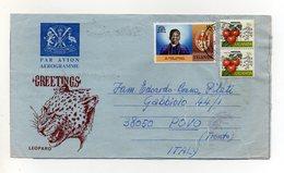 UGANDA - 1976 ? - Aereogramma Viaggiato Dall'Uganda Per Povo (Trento) - (FDC19383) - Uganda (1962-...)