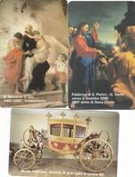 LOTTO 51 DI N° 3 SCHEDE VATICANO SCADENZA 01/01/1999 NUOVE - Vaticano