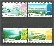 China 2010 60 Years Of Huai He River Regulation Mi 4192-4195 MNH(**) - 1949 - ... République Populaire