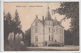RILLE CHATEAU DE MALCOMBE 1917 TBE - Frankreich