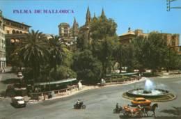 CPM  Palma De Mallorca Plaza De La Reina - Palma De Mallorca