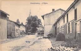 51 - CHAUDEFONTAINE : L'Eglise - CPA Village (320 Habitants) - Marne - Autres Communes
