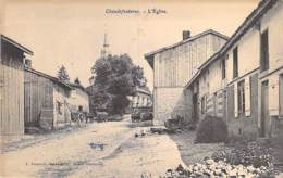 51 - CHAUDEFONTAINE : L'Eglise - CPA Village (320 Habitants) - Marne - France