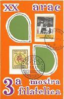 """7-TRIESTE-3 MOSTRA FILATELICA""""VERSO TRIESTE 68""""CARD EMISSIONE CONGIUNTA CON JUGOSLAVIA - Variedades Y Curiosidades"""