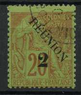 Reunion (1891) N 31 II (o) - Réunion (1852-1975)