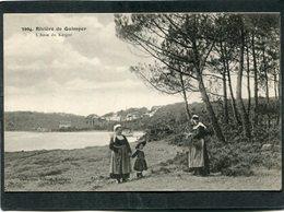 CPA - Rivière De Quimper - L'Anse Du Kergoz, Animé - Quimper