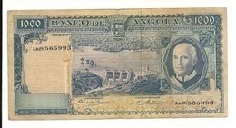 Portuguese Angola 1000 Escudos 1970 Fine Or More - Portugal