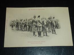 LA GUERRE AU TRANSVAAL - GROUPE DE PRISONNIERS ANGLAIS, GRAVURE DU JOURNAL L'ILLUSTRATION (AH) - Guerres - Autres