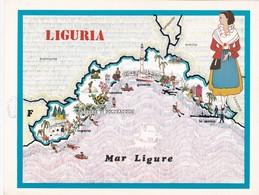 LIGURIA - ENOGRAFIA REGIONALE DEI VINI D.O.C - Mappe