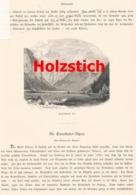 364 Ennstaler Alpen Eisenerz Aussee 2 Artikel Mit Ca. 19 Bildern 1880 !! - Revues & Journaux