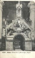 "6425 "" ASSISI-CHIESA DI S. MARIA DEGLI ANGELI ""- CART. POST. ORIG. SPEDITA 1910 - Italy"