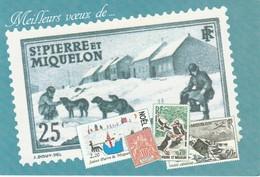 ENTIER POSTAL  SAINT PIERRE ET MIQUELON  DE GAULLE - De Gaulle (Generale)