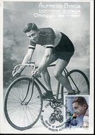 50627 Italia, Maximum 2002  Centanary Birth Of Alfredo Binda,  Cycling Champion - Cartas Máxima