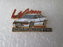 PIN'S    HONDA   CONCERTO  LA VIRTUOSE - Honda