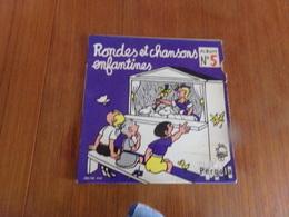 45 T Rondes Et Chansons Enfantines Album N° 5 - Weihnachtslieder