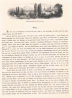 368 Steiermark Graz Grätz Bruck An Der Mur 2 Artikel Mit Ca. 17 Bildern 1880 !! - Revues & Journaux