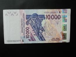 CÔTE D'IVOIRE : 10 000 FRANCS   (20)15      P 118A     Presque SUP - Elfenbeinküste (Côte D'Ivoire)